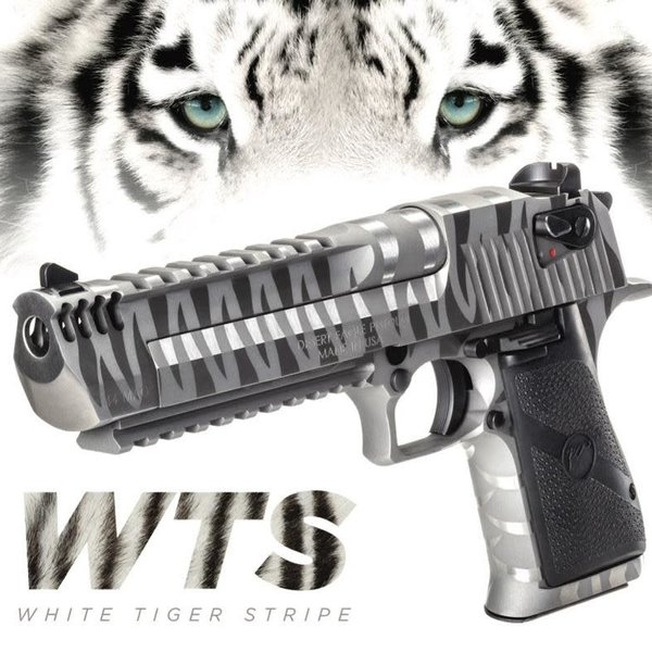 DESERT EAGLE .50 AE WHITE TIGER STRIPES SPECIAL EDITION