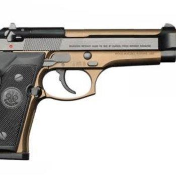 """BEREETA 92FS BURNT BRONZE 9mm 4.9"""" 3DOT/BLUED"""