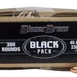 CCI 45AUTO 230GR FMJ BLACK PACK 300RDS