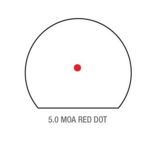 TRIJICON SRO SIGHT ADJ.LED 5 MOA RED DOT
