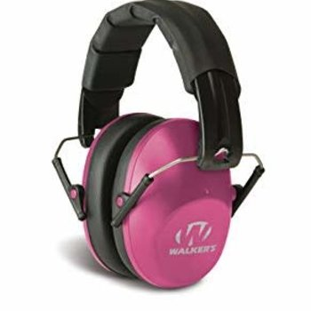 WALKERS HEARING  PROTECTION PINK