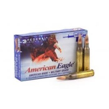 AMERICAN EAGLE 5.56X45MM 55GR FMJ 500RDS