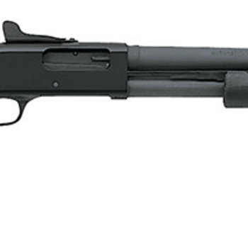 """MOSSBERG 590A1 SGP 12GA 20"""" BBL CYL PKZ HB SPEEDFEED CLEAN OUT TUBE 9RD"""