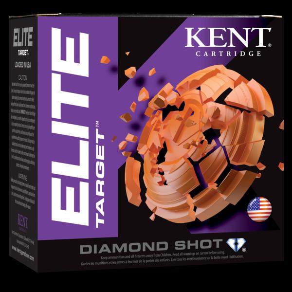 """Kent Cartridge Elite Target, 12Ga. 2-3/4"""", 1OZ, 1200FPS-8"""