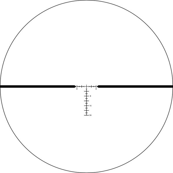 Vortex Razor HD LH 2-10x40 SFP Riflescope with HSR-4 MOA