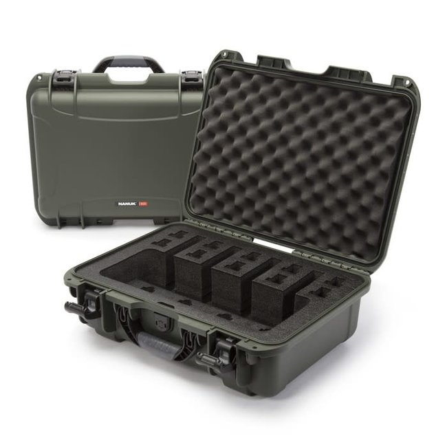 Nanuk Case with Foam insert for 4UP Olive 925