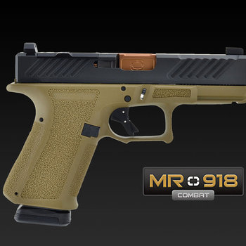 Shadow Systems MR918 Combat 9mm Pistol 4.17″ FDE/Bronze Optic Ready