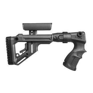 FAB Rem 870 UAS Polymer Folding stock Blk