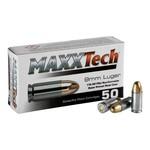 MAXXTECH 9MM 115GR FMJ NON-CORROSIVE 1000RS