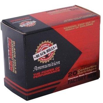 BLACK HILL AMMO USA 9MM LUGER 124gr JHP BRASS 20rd/box
