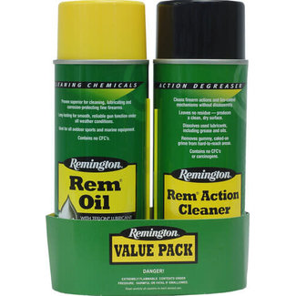 Remington Oil & Action Cleaner Combo