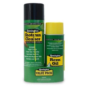 Remington Shotgun Cleaner & REM Oil Combo