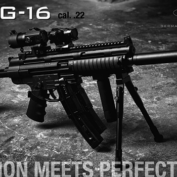German Sport GSG-16 Semi 22LR Rifle 16.25″ Barrel Non-Restricted