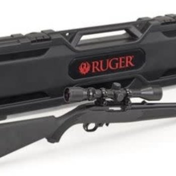 Ruger 10/22 Scope Combo with Case 22LR SYN 18.5""