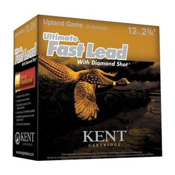 "KENT ULTIMATE FAST LEAD 12GA 2 3/4"" 1 3/8OZ #4 1475FPS 250/box"