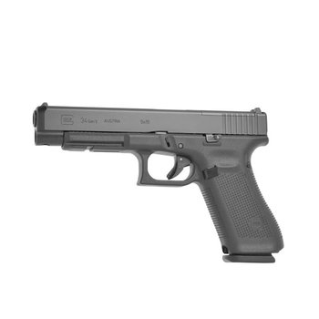 "Glock 34 Gen5 MOS, 5.31"" Barrel, 9mm, Black"