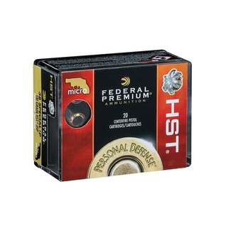Federal Federal HST P38HSTIS DEFENSE PISTOL AMMO 38 SP 130gr  JHP 20/box