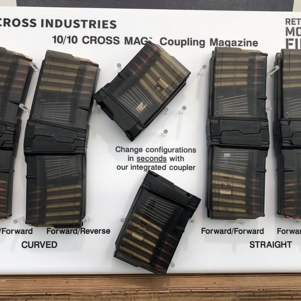 Pro-order Cross Industries 5.56 NATO 10/10 Cross Mag Coupling AR-Pistol 10 Round Mag