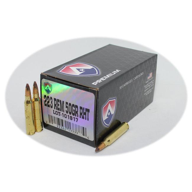 Atlanta Arms Ammo 5.56 50 GR FRANGIBLE AA Premium 1000RS/Case
