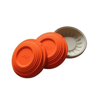LAWRY  PRECISION ALL ORANGE CLAY TARGET 108mm 135 / Case