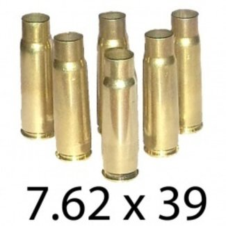 Once Fired Mixed Brass 7.62x39  (250ct)