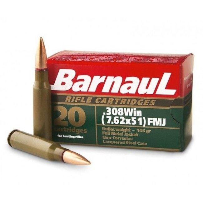 Barnaul AMMO .308 WIN 145GR (FMJ)