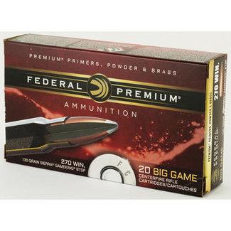 Federal Federal Premium Vital-Shok P270D, 270 Win, 130 GR, 3060 fps, 20 Rd/box