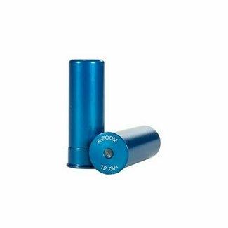 A-ZOOM 12GA SNAP-CAP BLUE 2PK