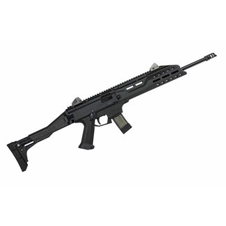 CZ CZ  Scorpion Evo 3 S1 Semi-Auto Tactical Pistol 9MM 18.6'' BBL 5 RS  Low Profile Sight Black