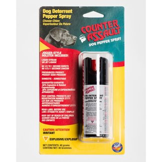 COUNTER ASSAULT DS-40 DOG REPELLANT PINK 40G