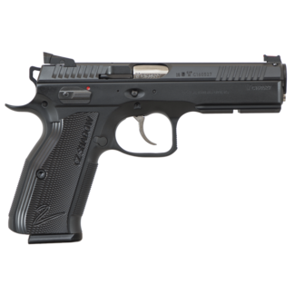 "CZ CZ-USA 91763 Accushadow 2 Semi-Auto Pistol 9MM, 4.9"", 10 Rnd, SA/DA, FO Front, HAJO Rear, Ambi Man Safety"