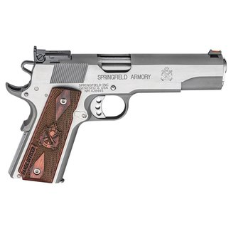Springfield Springfield Armory Range Officer 1911 Pistol 45 ACP 5″ Match Barrel Stainless
