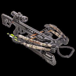 Bear Archery BearX Constrictor CDX Crossbow Package with Illum Scope Rope & Bolts RH / LH - Veil Stroke Camo