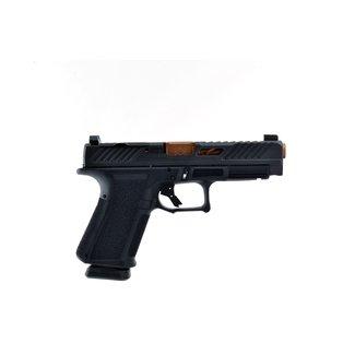 SHADOW SYSTEM Shadow Systems MR918L Elite Semi-Auto Pistol, 9mm Long Slide Optic Ready Bronze