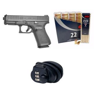 Glock Glock 44 + CCI mini-mag 500 rds+lock