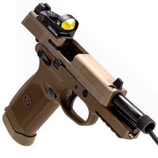 FN FN FNX-45 Tactical With Vortex Venom 45 ACP 5.3″ Pistol-FDE