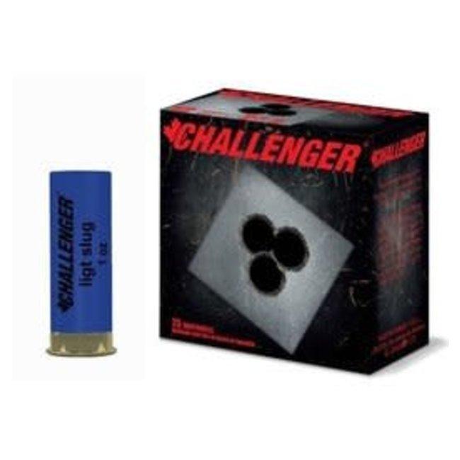 Challenger 12ga 2 3/4 Tactical slug  Low Recoil 1oz  25rs/box
