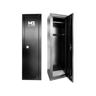 HQ Outfitters HQ-GC14 14 Gun Steel Cabinet, 53″X17″X13.5″, Key Lock