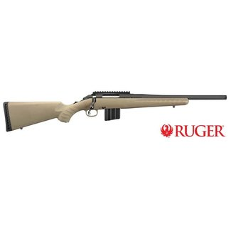 Ruger American Ranch Rifle 5.56 AR Magazine And Threaded Barrel-FDE