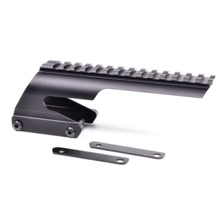 REMINGTON SHOTGUN SCOPE MOUNT WITH PICCATINY RAIL