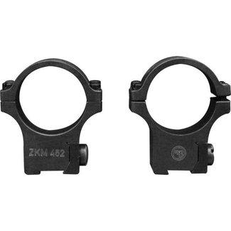 CZ 457/455/512 30mm STEEL SCOPE RINGS