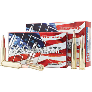 HORNADY AMERICAN WHITETAIL .308WIN 165gr