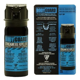 BODY GUARD PROTECTIVE DOG REPELLENT 50G