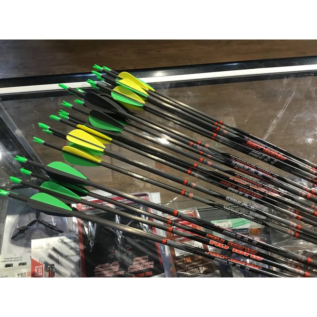 Avalon Tyro Carbon Arrows (Fletched w/Vanes) 6/pack