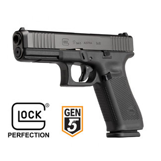 "Glock Glock G17 Gen5 Fixed Sight 9mm, 4.5"", 3mags"