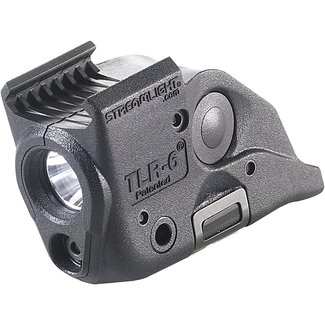 streamlight Streamlight 69293 TLR-6 Tactical Pistol Mount Flashlight 100 Lumen with Integrated Red Aiming Laser Only for Smith&wesson  Railed Hand Guns, Black