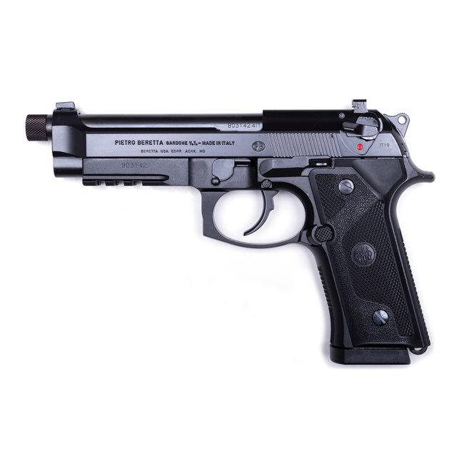 "BERETTA M9A3 BLK  9mm 5"" BRL W/3 10rd MAGAZINE & AMMO CASE"