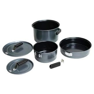 Coleman 16423 Family Cook 5 Piece Set - 10 inch Frying Pan, 6