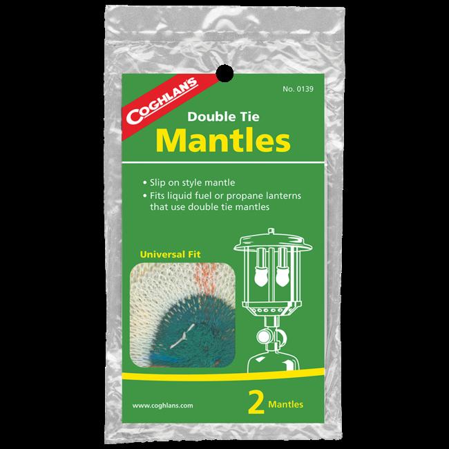 Coghlans 0139 Double Tie Mantle Slip-On 2Pk