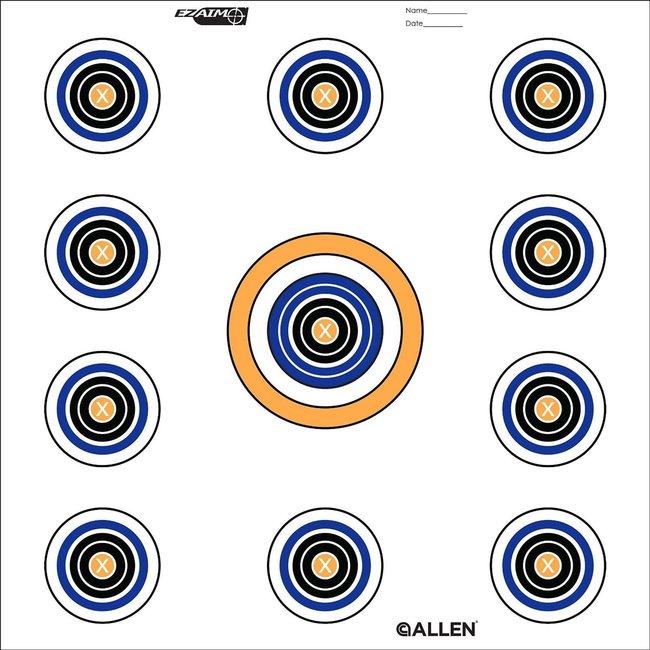 Allen 11 Spot Target 12in 30 cm 12 packs